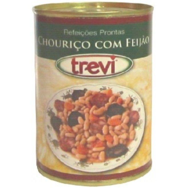 CHOURICO TREVI C/FEIJAO LATA 420GRS (12)#