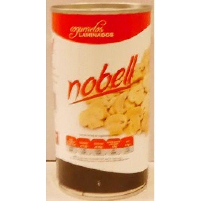 COGUMELOS NOBEL LAMINADOS 355GRS (12)#
