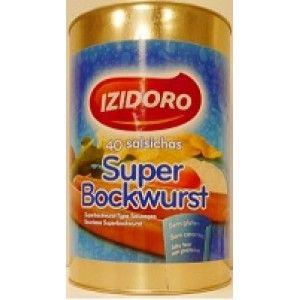 SALSICHAS IZIDORO SUPER BOCKWURST LATA 40 (2)