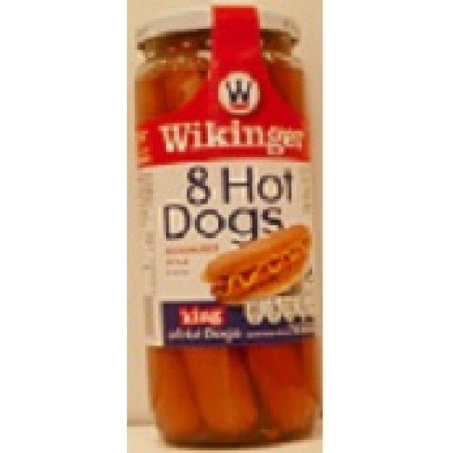 SALSICHAS WIKINGER HOT DOG FRASCO 8 360GRS (12)#