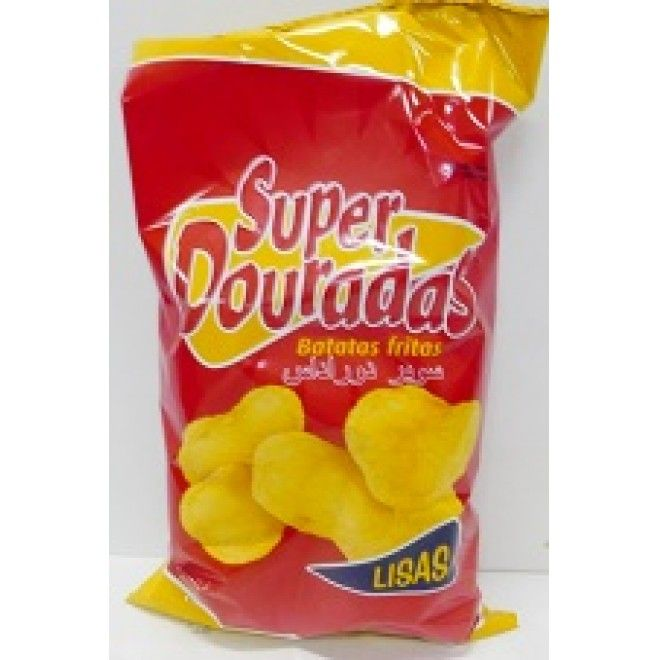 BATATA FRITA SUPER DOURADAS LISAS 150GRS (16) (103722)#