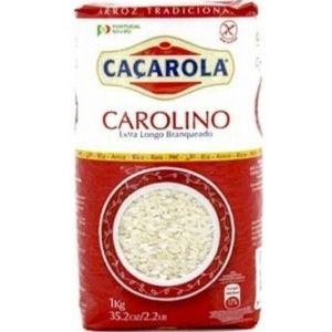 ARROZ CACAROLA EXTRA LONGO CAROLINO KG (10)#