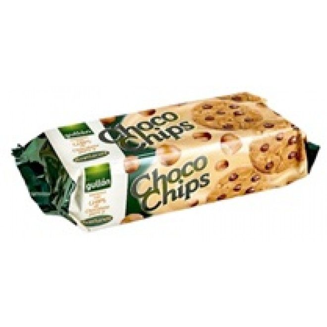 BOLACHA GULLON CHOCO CHIP DIETA NATURAL 125GRS (12)#