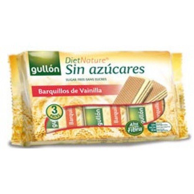 BOLACHA GULLON WAFFER BAUNILLA DIETA NATURAL 210GRS (12)#