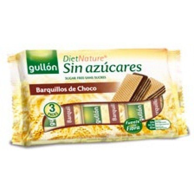 BOLACHA GULLON WAFFER CHOCOLATE DIETA NATURAL 210GRS (12)#
