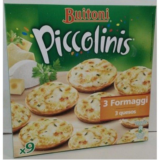 PICCOLINIS 3 QUEIJOS 270 GRS.NESTLE