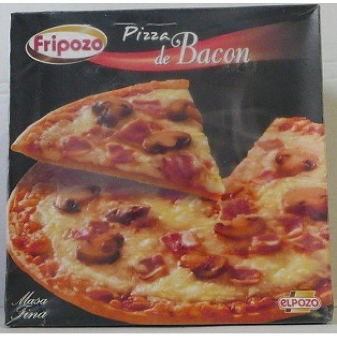 PIZZA BACON E COGUMELOS FRIPOZO  370 GRS    (CX.6) (7338)