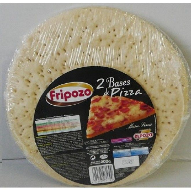 BASE P/PIZZA 300 GRS. FRIPOZO ( 7179 )