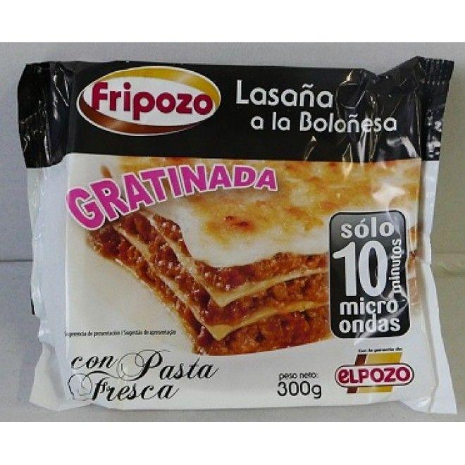 LASANHA A BOLONHESA 300 GRS.FRIPOZO ( 3327 )