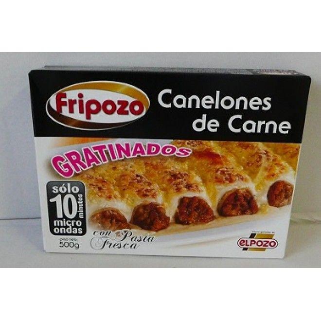 CANNELLONI CARNE C/BECHAMEL 500 GRS FRIPOZO ( 7070 )