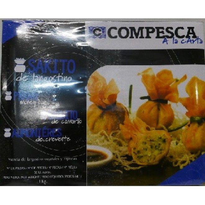 SAQUITO DE CAMARAO 1KG CX4 COMPESCA