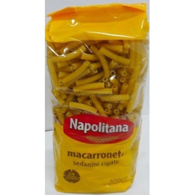 MACARRONETE ESTRIADO NAPOLITANA 500GRS (20)#