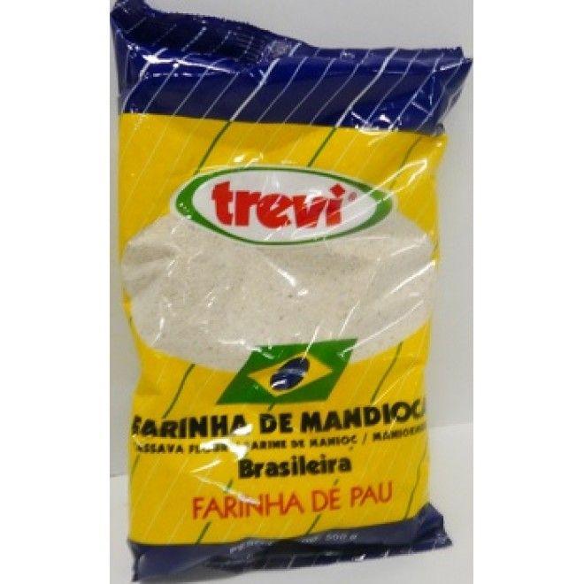 FARINHA MANDIOCA TREVI 500GRS (10)