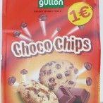 BOLACHA GULLON CHOCO CHIPS NEGRO 200GRS (10)#