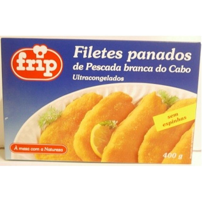 FILETES PANADOS PESCADA 400 GRS.FRIP