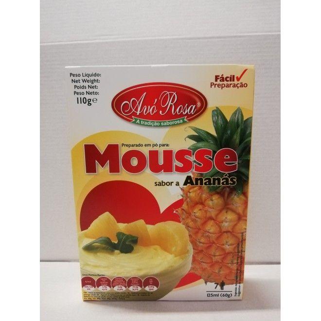 MOUSSE AVO ROSA ANANAS 110GRS (12)