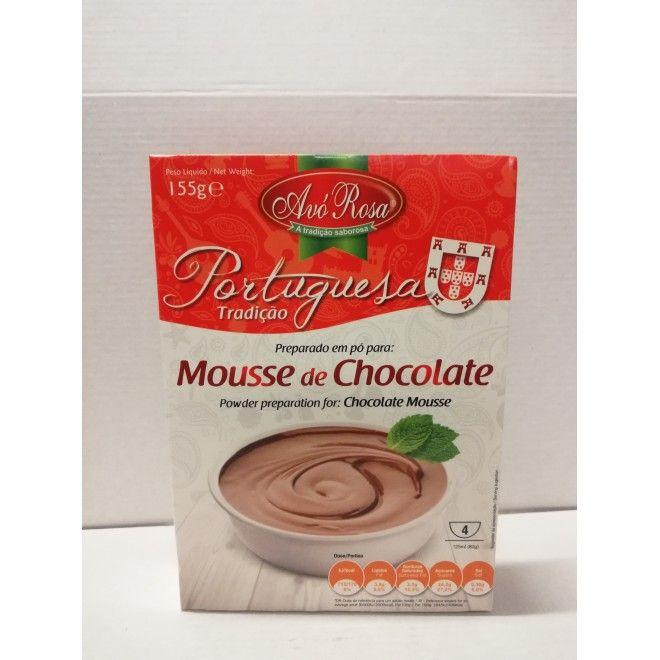 MOUSSE CHOCOLATE AVO ROSA 155G (12)#