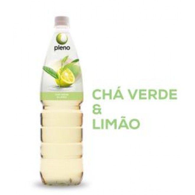 PLENO TISANA CHA VERDE/LIMAO 0.33L (12)