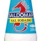 SAL IODADO REFINADO SALDOMAR FRASCO PET 250G (12)