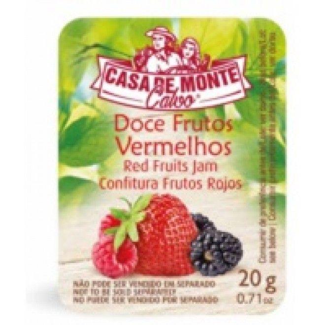DOCE F. VERMELHOS MONTE CALVO DOSES 120X20G (1) (97209)