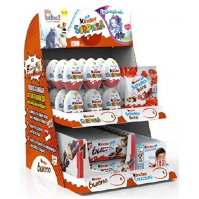 EXPOSITOR KINDER TOP 4 CAFES 19/20 (1278B)
