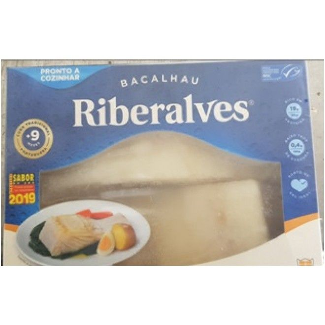 BACALHAU CONG.DEMOL. RIBERALVES 800G (16) (3020CMSC)