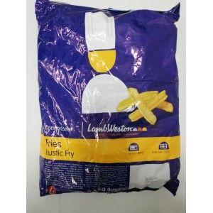 BATATA RUSTICA C/PELE C/AMIDO 2.5 KG. L.W. (LWF56)