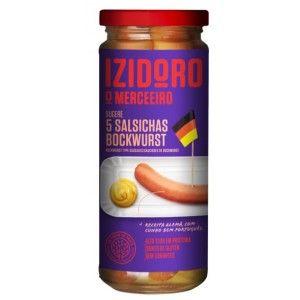 SALSICHAS IZIDORO BOCKW. FRASCO 5 245GRS (6)#