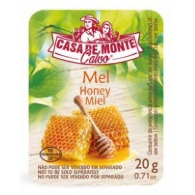 DOCE MEL SIMPLES MONTE CALVO DOSES 120X20G (1) (97210)