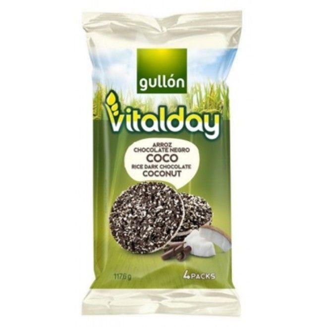 TORTILHAS VITALDAY ARROZ/ CHOCO COCO 117.6G (8) (5319)