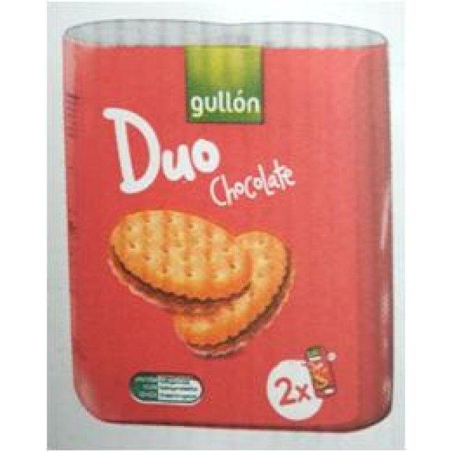 BOLACHA GULLON SANDWICH DUO 2X145G (12) (T6040)#
