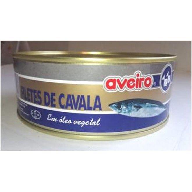 FILETE CAVALA OLEO VEGETAL AVEIRO LATA 800G (12)